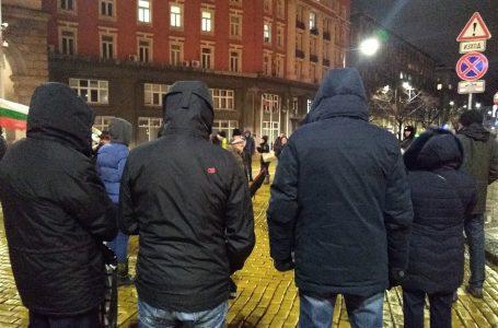 Мразовитият вторник не спря протестиращите
