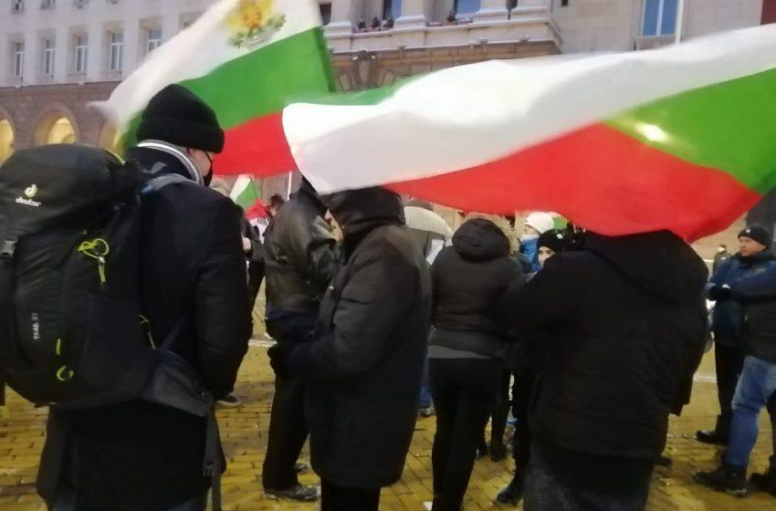 Протест и в неделя, независимо от мразовития студ