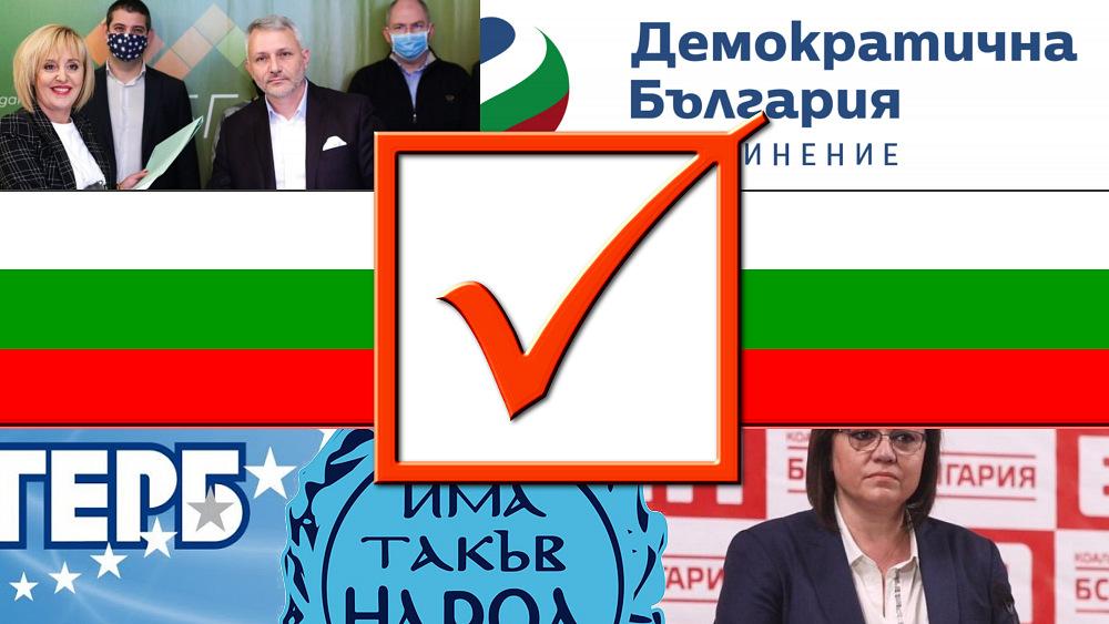 Анкета - Парламентарни избори 2021