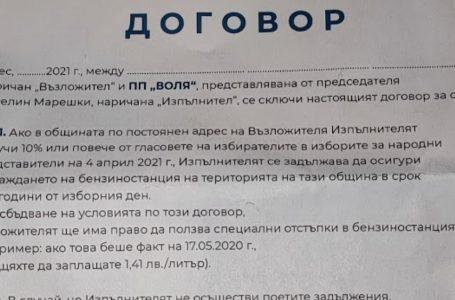 Веселин Марешки скандално нарушава правилата за агитация чрез аптеките си