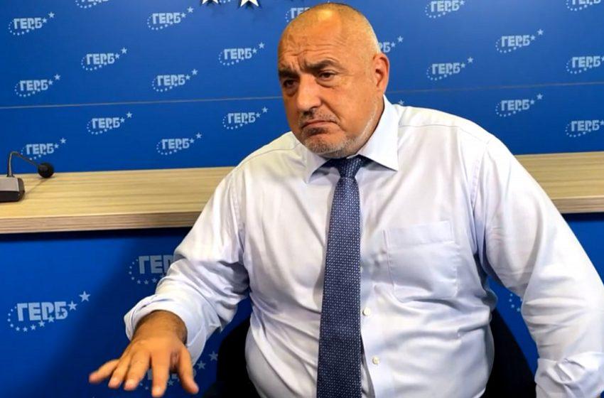 Бойко Борисов се включи на живо, но нито една телевизия не го отрази