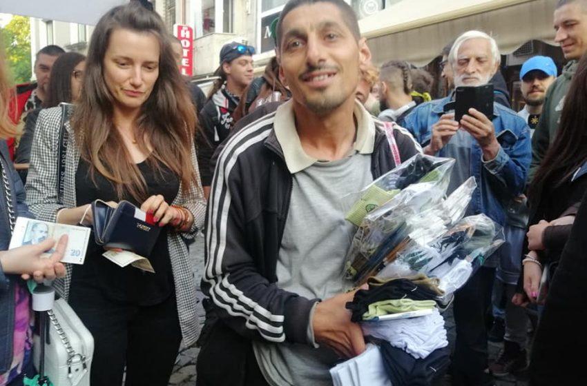 Осъден с данъчни задължения наби уличен продавач в Пловдив