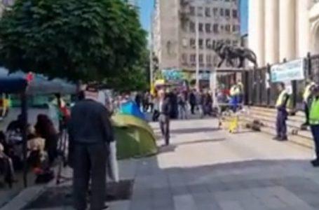 Пълна блокада на Съдебната палата в София