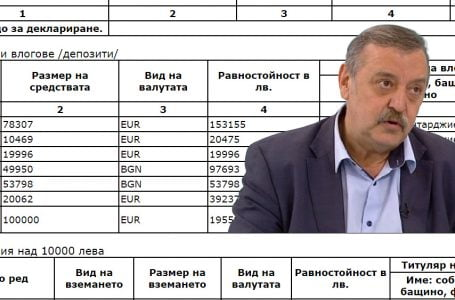 Пенсионираният Тодор Кантарджиев спестил половин милион от заплати